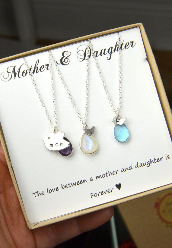 Moeder dochter ketting Set familie moeder moeder dochter