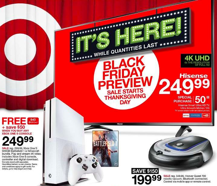 Target Black Friday Ad 2016 via @msmblog