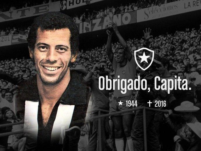 Homenagem do Botafogo a Carlos Alberto Torres (Foto: Divulgação Botafogo)