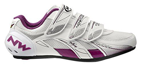 Northwave Venus Womens Road Cycling Shoe White Purple Size 38