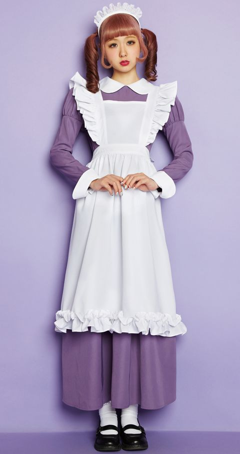 AMOちゃん in Violet maid girl ヴァイオレットメイドガール outfit for Lunatic Lemony Lollipop collection - Japan - 2013