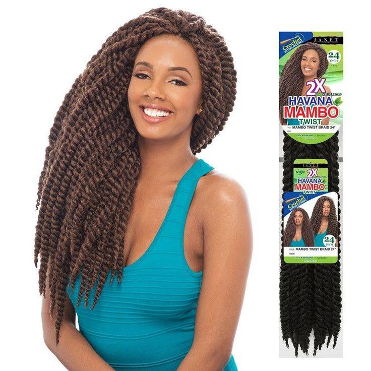 Janet Collection Pre Loop Crochet Braid 2x Havana Mambo