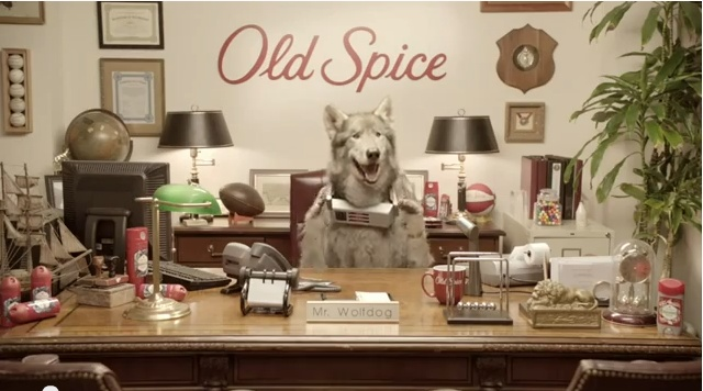 New Old Spice Ad - Meet the Wolfdog