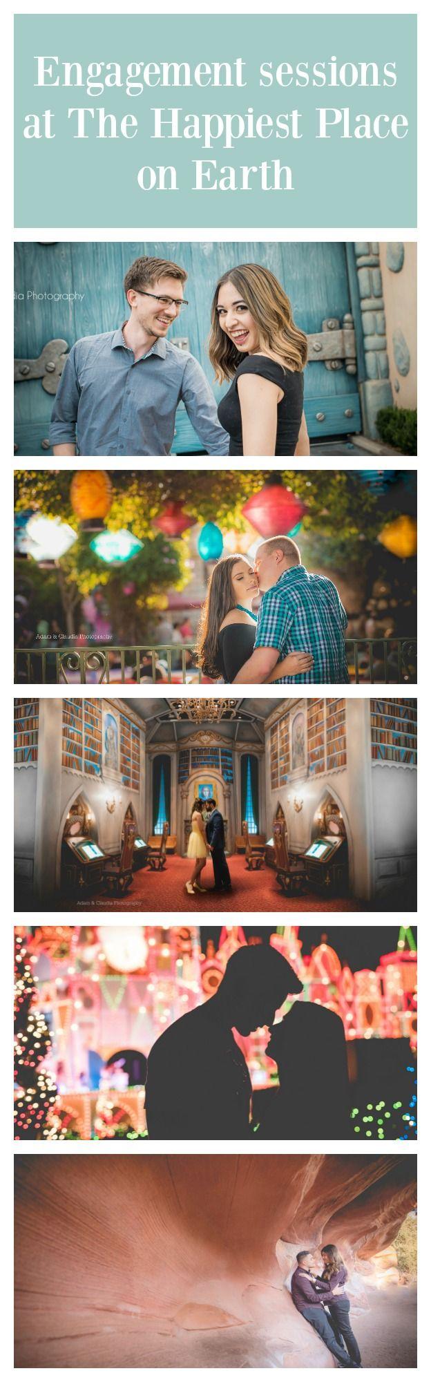 Disneyland Engagement Photo Sessions!!!!