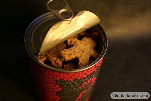 Comment enfermer des petits biscuits dans une boîte de conserve... magique
