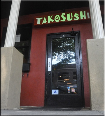 Tako Sushi Greenville, SC- try the Firecracker and Unforgettable rolls...