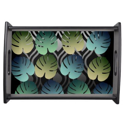 #Tropical Love Serving Tray - customized designs custom gift ideas