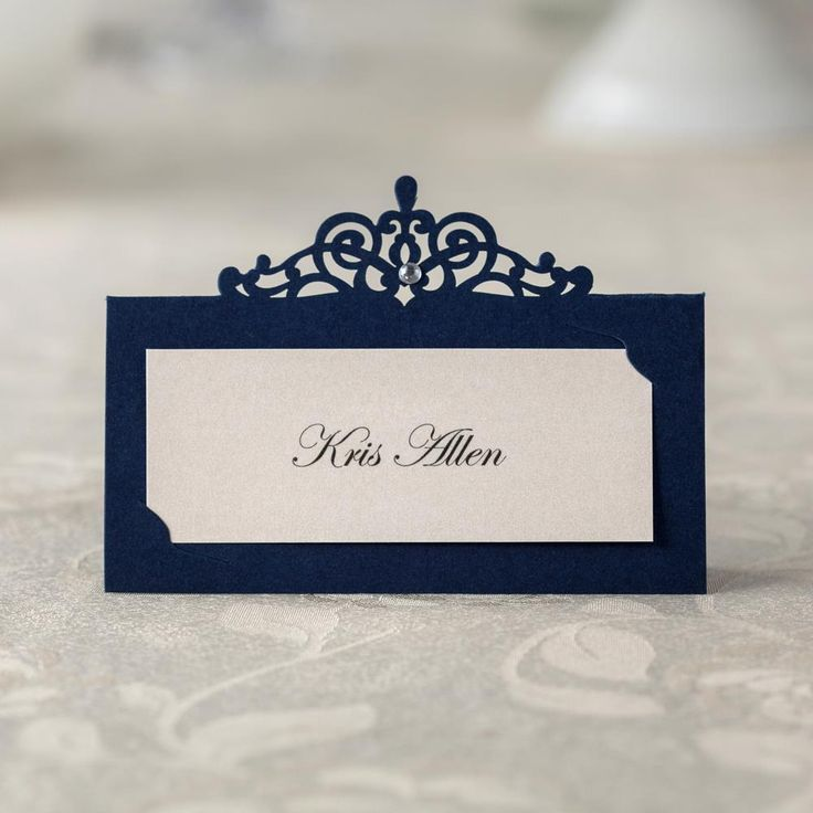 wedding table name card size%0A   pcs Blue Place Card Holder Table Centerpieces Number Name Card Wedding  Banquet Decoration Event Party Cards