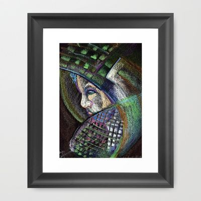 oil pastel http://society6.com/product/hidden-face-s2b_framed-print#12=60&13=54