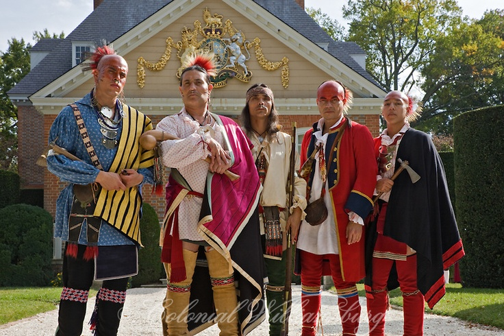 """Indians behind the Palace. """"So Far From Scioto"""" Shawnee"""