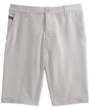 Rip Curl Men's Mirage Angry Elf Hybrid Boardwalk Shorts  - Gray 30