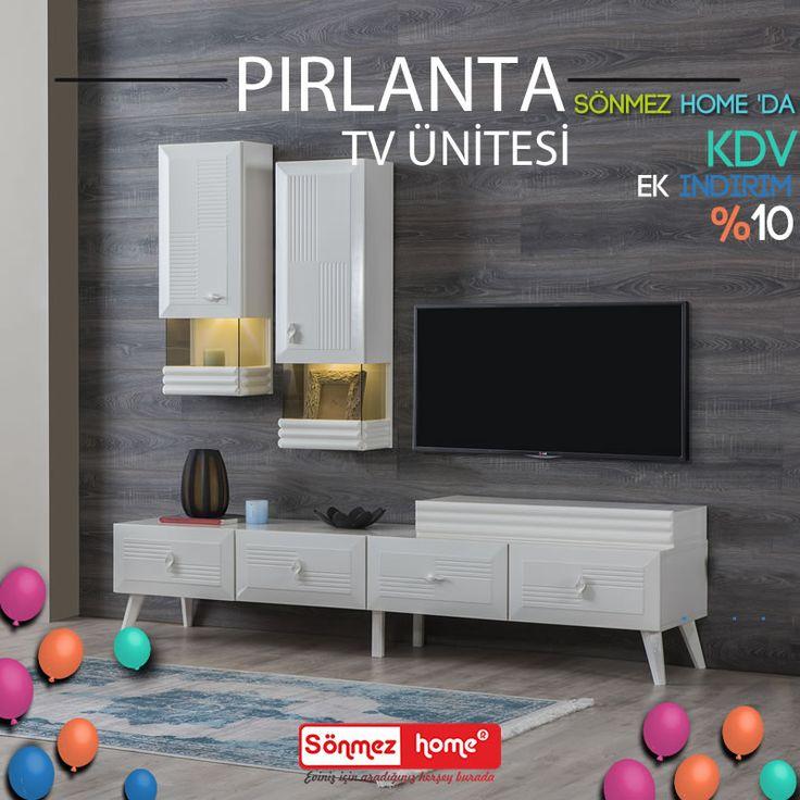 Televizyon keyfinizi Pırlanta Modern TV Ünitesi farkı ile yaşayın!  #EnGüzelAnlara #TvÜnitesi #Home #HomeDesign #Design #Decoration #Ev #Evlilik  #Çeyiz #Konfor #Rahat #Renk #Mobilya #Çeyiz #Kumaş #Stil #Tasarım #Furniture #Tarz #Dekorasyon #DuvarModül #AltModul #Tv #Modern #Furniture #Duvar #Tv #Ünitesi #Sönmez #Home #Televizyon #Ünitesi #TvSehpası  #Sönmez #Home