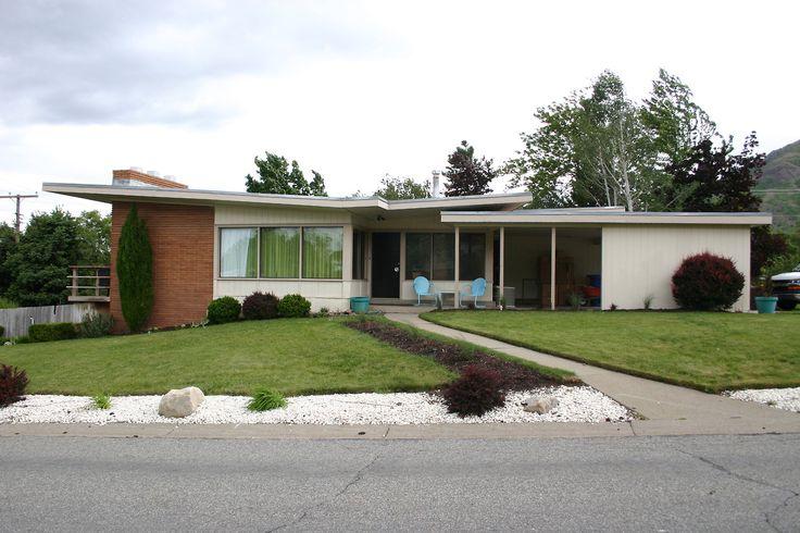 Butterfly Roof Beautiful Via Mid Century Modern Freak
