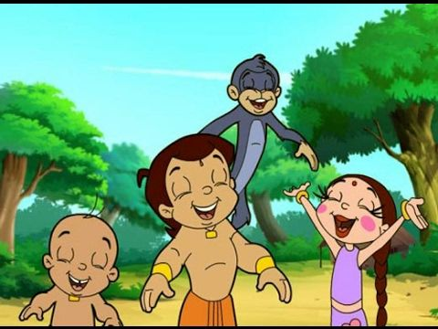 Chota Bheem Cartoon,Kids Game || Dholakpure's hero Bheem Tag Fighting ||
