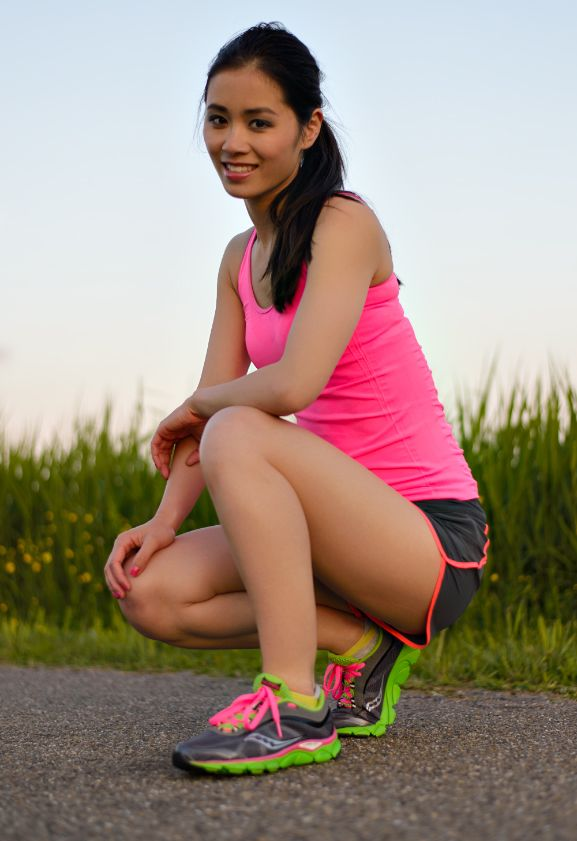 Outfit: Running Saucony Virrata - http://www.thebeautymusthaves.com/2013/06/running-saucony-virrata.html