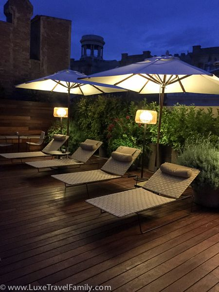 The Mercer Hotel Barcelona is an excellent boutique hotel located in the charming gothic quarter.