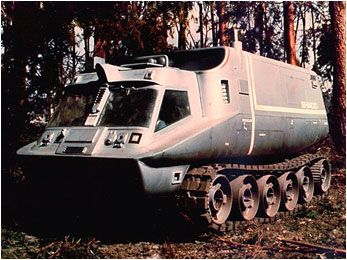 SHADO Mobile Reconnaisance Vehicle from The UFO series UK TV,1969-70.