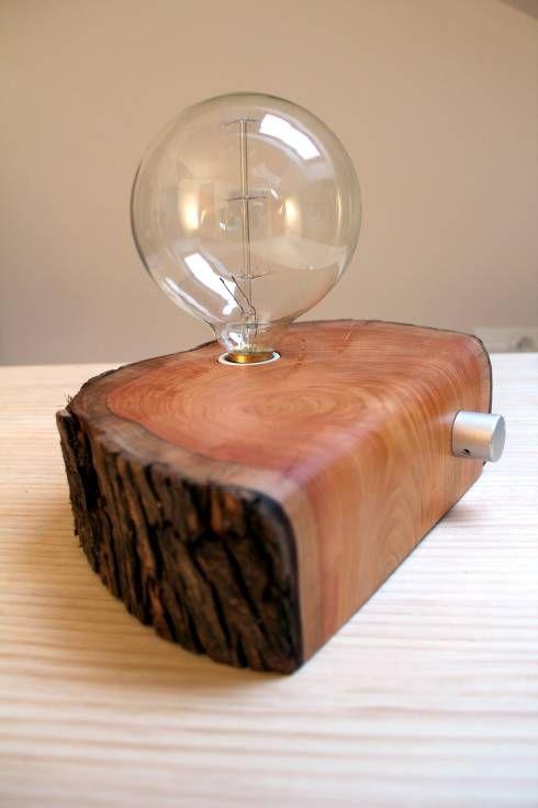 Diese etwas andere Holzlampe von BRZ wood DESIGN und weitere hölzerne Einrichtungsideen findet ihr im Artikel #einrichtungsideen #dekoideen #homify