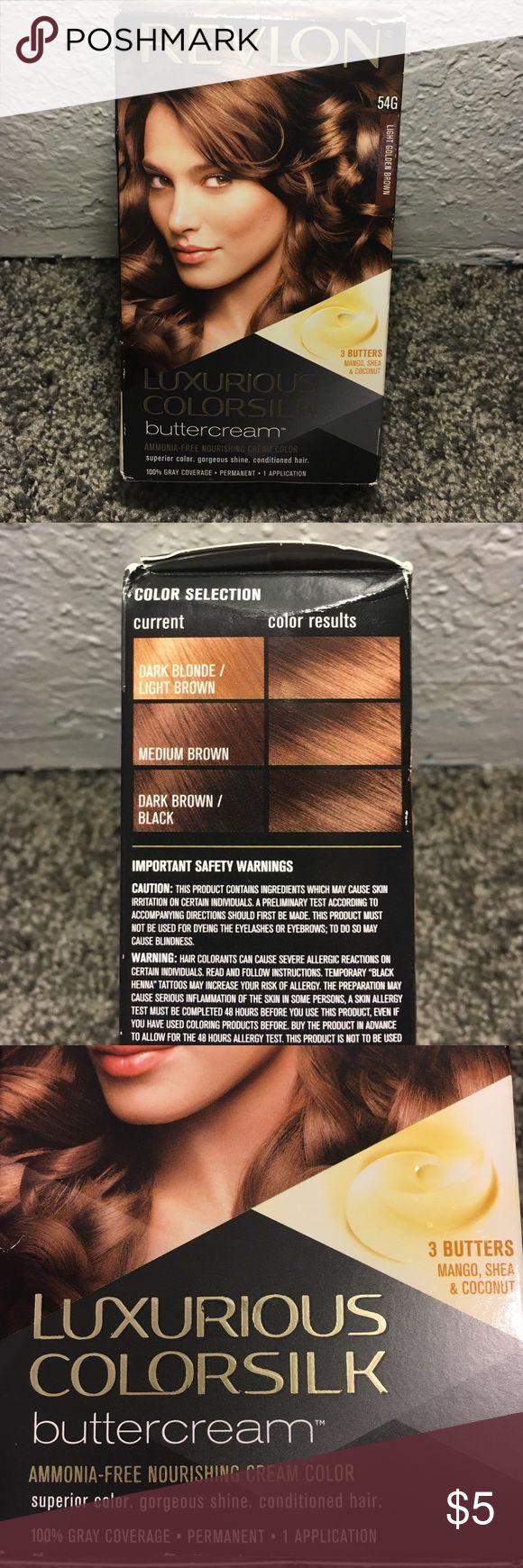 Garnier olia permanent hair colour golden brown 5 3 - Selling This Revlon Light Golden Brown Hair Dye On Poshmark My Username Is Hneivau