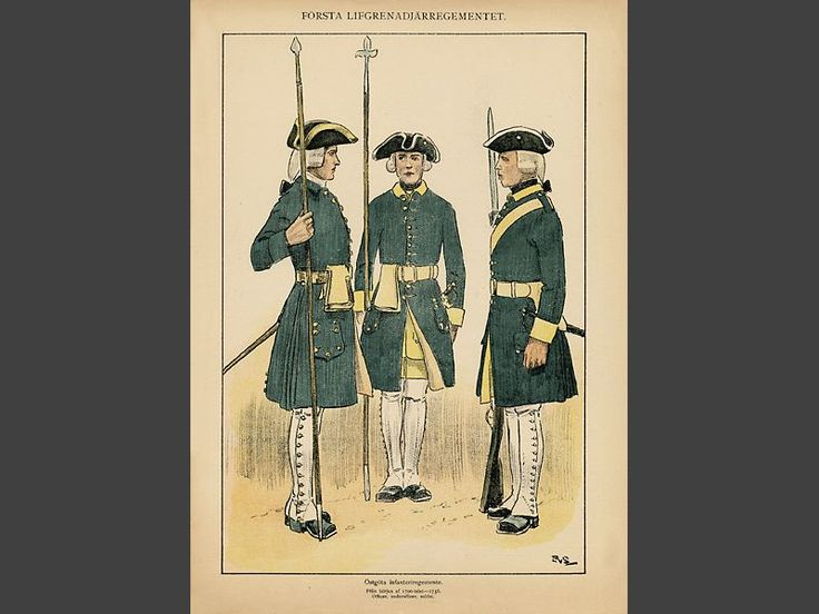 Östgöta regiment of foot 1700-1756 by Einar von Strokirch