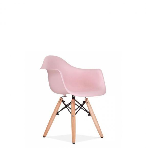 Chaise avec accoudoir DAW  enfant rose pastel