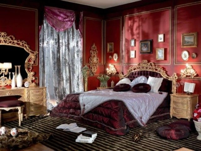 Romantic Victorian Bedrooms | Small Victorian Bedrooms With Rich Furniture  Pieces