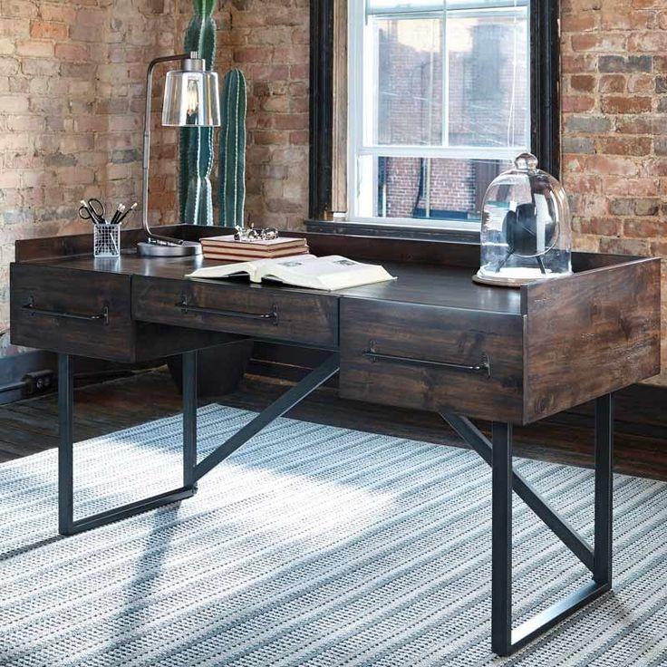 Best 25+ Industrial desk ideas on Pinterest | Industrial pipe desk ...