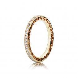 Hearts Of PANDORA Ring - 14K Gold