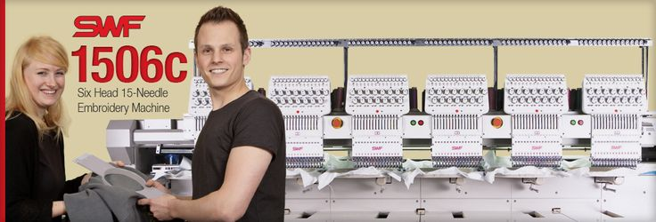 6 Head Multi Head Embroidery Machines | SWF East