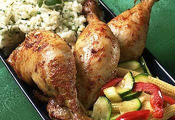Kylling,+risotto+og+grønnsakwok