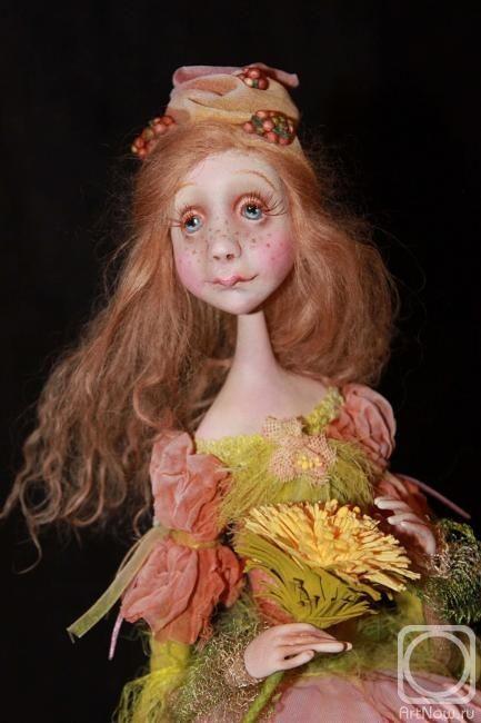 """""""Dandelion"""" by doll artist Victoria Minenko"""
