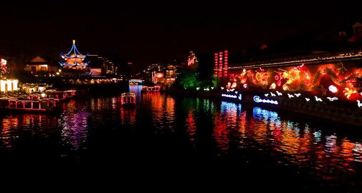 China: Die schönsten Städte bei Nacht - Nanjing   © CC sqfp.info via Flickr