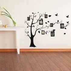 Photo Frame Tree Family Picture Wall Sticker For Home Decor