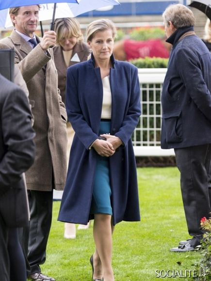 Sophie Countess Wessex Ascot Racecourse Autumn Meeting