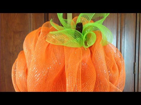 how to make a deco mesh wreath youtube