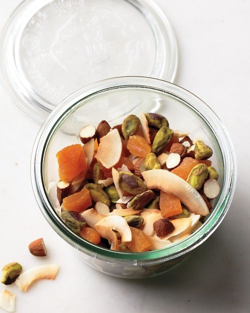 Coconut Trail Mix | Whole Living Action Plan: Snacks. *use no sugar added preserved fruit instead