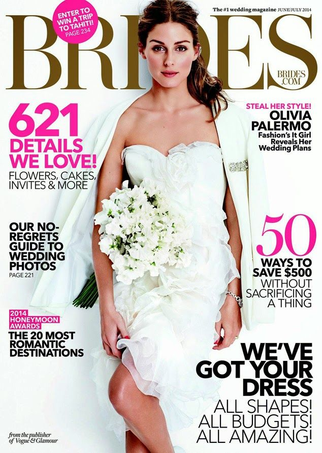 THE OLIVIA PALERMO LOOKBOOK : Olivia Palermo for Brides Magazine