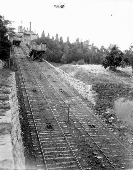 James Street Incline, H. & B. Incline Railway - ca. 1900-1925