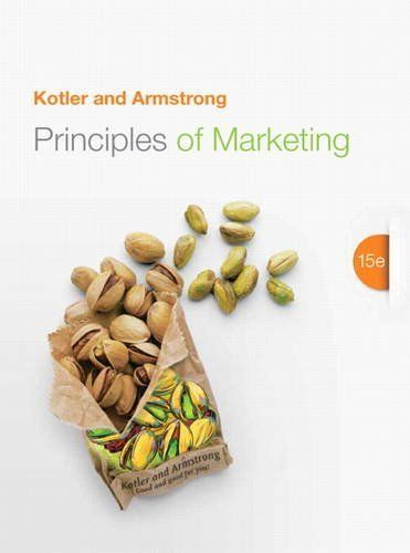 Principles of Marketing (15th Edition) by Philip Kotler. Save 44 Off!. $134.49. 720 pages. Edition - 15. Publisher: Prentice Hall; 15 edition (January 19, 2013). Publication: January 19, 2013