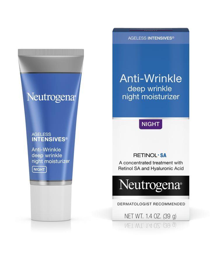 Ageless Intensives Anti Wrinkle Night Moisturizer Neutrogena Wrinkle Moisturizer Night Moisturizer Anti Wrinkle Moisturizer