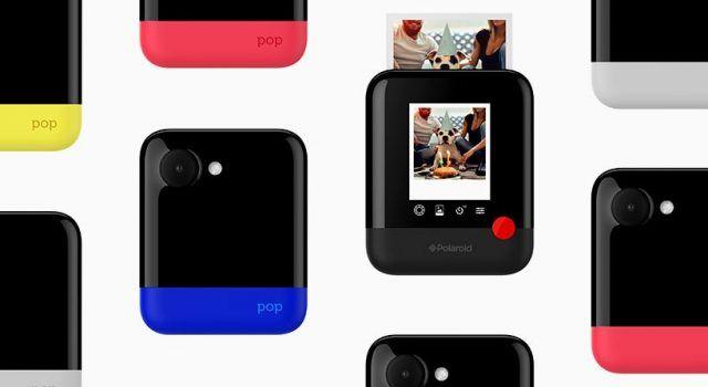 Con la nueva cámara Polaroid Pop será posible imprimir fotografías sin tinta