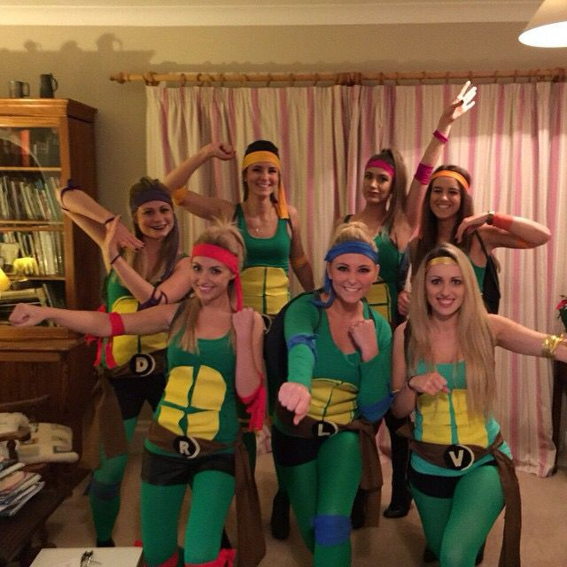 35 best hen images on pinterest single men bachelorette scavenger teenage mutant ninja turtles fancy dress costume heroes in a half shell turtle power solutioingenieria Choice Image
