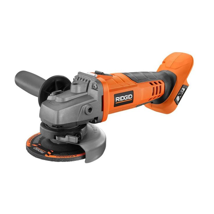 RIDGID X4 18-Volt Lithium-Ion Cordless 4-1/2 in. Angle Grinder