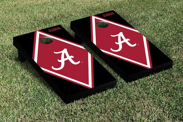 Show your team spirit with these super rad University of Alabama cornhole boards! $199.99