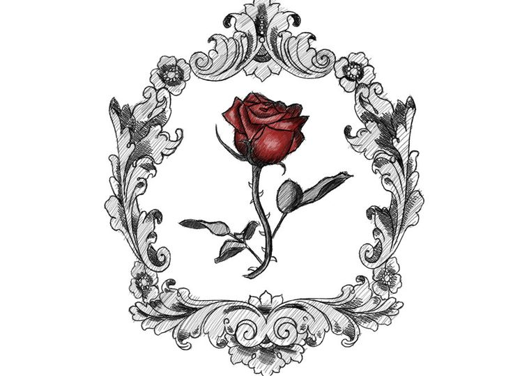 Victorian Rose - Tattoo by ~KrisPhero on deviantART