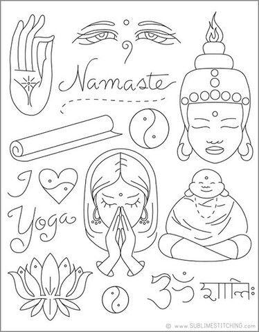 Shanti In Sanskrit Tattoo