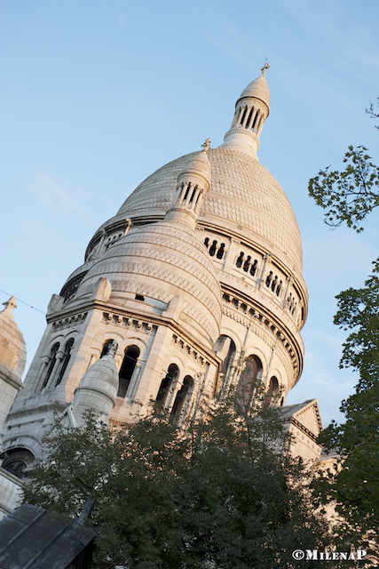 #Paris, Sacré Coeur, Montmartre  ©MilenaP