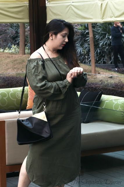 OOTD - Off To The ARMY Ladies | Winter Diaries | The Shopaholic Diaries - Indian Fashion, Shopping and Lifestyle Blog !