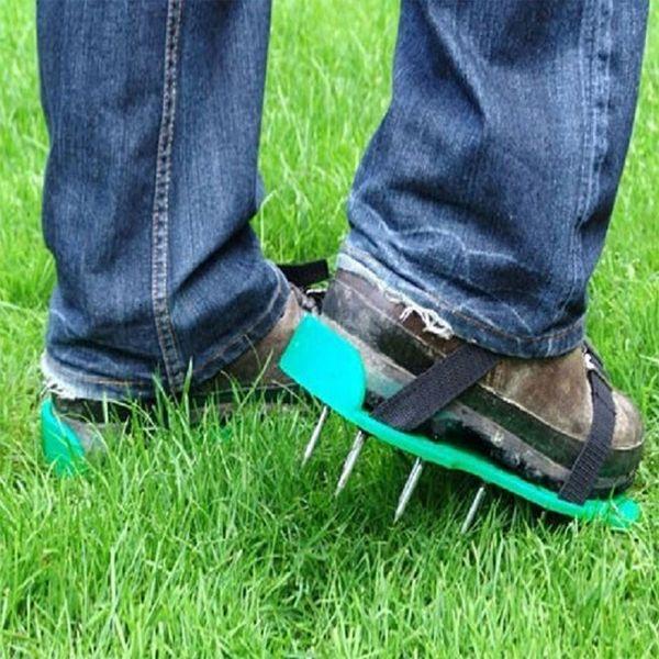 Garden Lawn Aerator Shoes