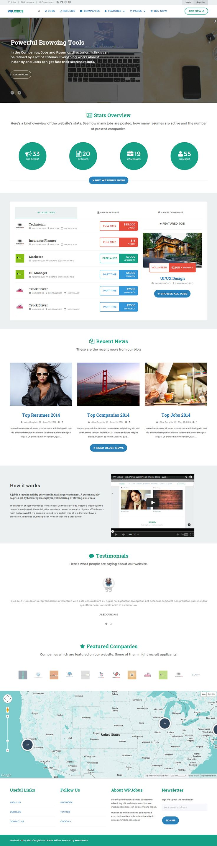 best ideas about job board theme retro design job board theme for wordpress niche job sites in minutes